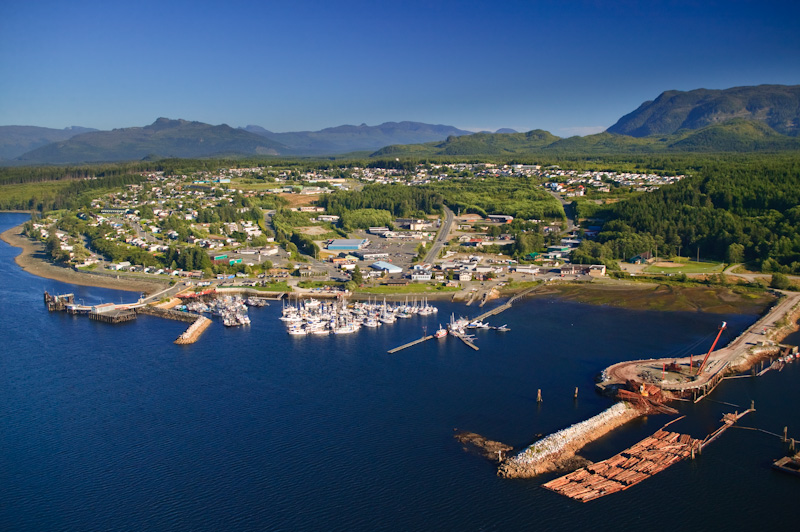Aerial View Port McNeil